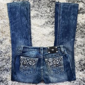 Miss Me Signature Boot Cut Jean's.  Size 26.